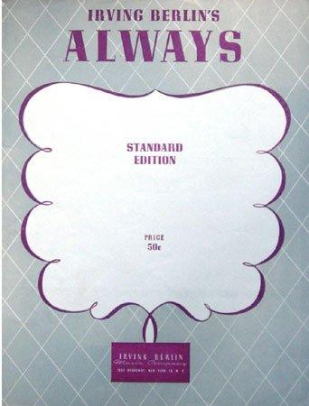 Always (Sheet Music)