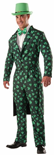 Forum Novelties Men's Shamrock Costume Formal Suit, Green, Standard -