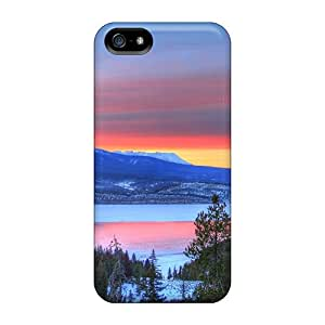 VdMJhID8167AuqXN Tpu Case Skin Protector For Iphone 5/5s Beautiful Colorful Mountain Lake With Nice Appearance