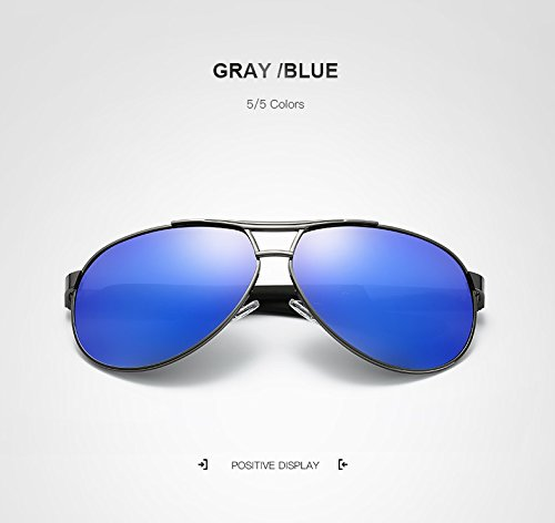 Designer espejos Brand Espejo Sun Hombres Hombres Gray GR polarizado Gray Retro Sunglasses Glasses Blue Color Glasses Aviation black Sunglasses Xq8xx1vIRw