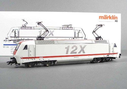 Märklin E-Lok 3438.1, 128 002-5, im Originalkarton