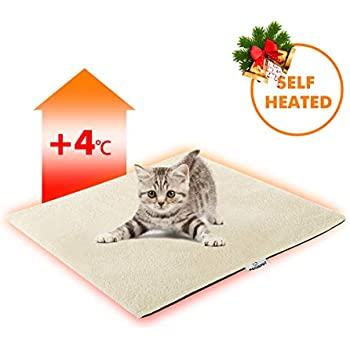 Focuspet Cat Thermal Mat, Cat Heating Pad Pet Bed Mat 19