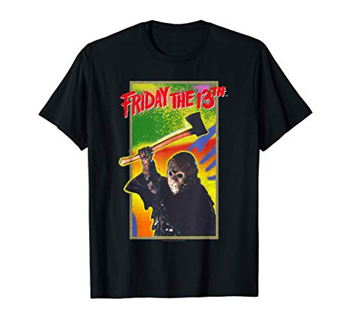 Friday the 13th Retro Game T Shirt (Best Counselor Friday The 13th Game)