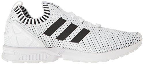 Adidas Originals Zx Mens Flusso Pk Moda Sneaker Bianco / Nero / Nero