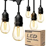addlon LED Outdoor String Lights 48FT with 2W