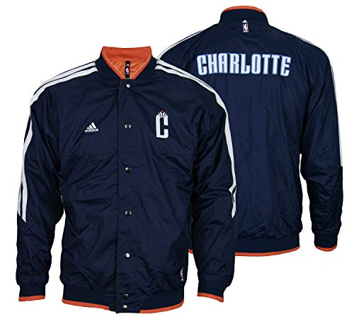 Charlotte Bobcats NBA Youth On Court Reversible Jacket, Navy (Medium (10-12))