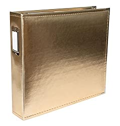 Faux Leather 12x12 3-Ring Binders