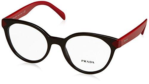 Prada PR01TV Eyeglass Frames DHO1O1-51 - Brown - Prada Mens Prescription Glasses