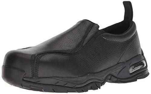 Nautilus 1630 Full Grain Leather ESD  Safety Toe Slip-On,Black,15 M
