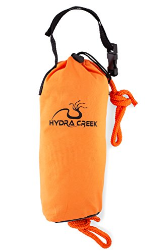 Throw Rope Bag - Hydra Creek Rescue Throw Bag, 70 feet, 3/8 inch Rope, Floating,