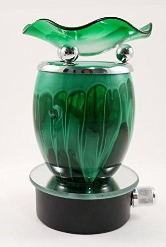 Plug-In Aromatherapy Fragrance Lamp W/Dimmer Electric Oil Warmer/Burner (Green) - Home Depot Dimmer