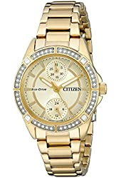 Citizen Women's FD3002-51P Drive from Citizen Eco-Drive POV Analog Display Japanese Quartz Gold Watch