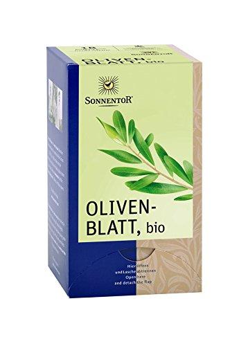 Sonnentor Olivenblatt-Tee im Beutel (18 Beutel) - Bio