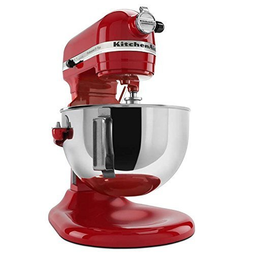 KitchenAid Professional 600 Series KP26M1XER Bowl-Lift Stand Mixer, 6 Quart, Candy Apple Red