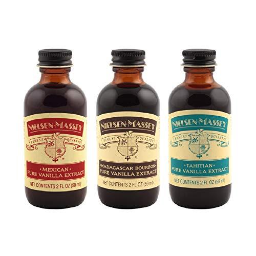 Nielsen-Massey International Vanilla Starter Kit, 2 ounces