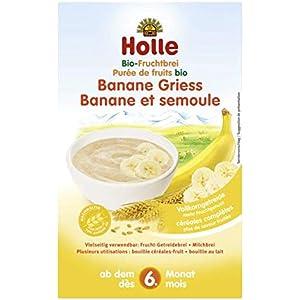ホレ(Holle)オーガニック 有機小麦 離乳食 お粥 フルーツ (6ヵ月〜) 250g