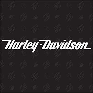 Speedwerk Motorwear Motorrad H Davidson Schriftzug Sticker