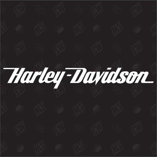 speedwerk-motorwear Motorrad H Davidson Schriftzug Sticker