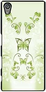 Funda para Sony Xperia Z5 - Mariposas Verdes Floral by Nina Baydur