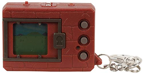 (Digimon Bandai Original Digivice Virtual Pet Monster - Brick Brown)