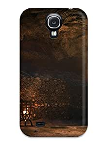 Perfect Tpu Case For Galaxy S4/ Anti-scratch Protector Case (assassin's Creed: Unity)