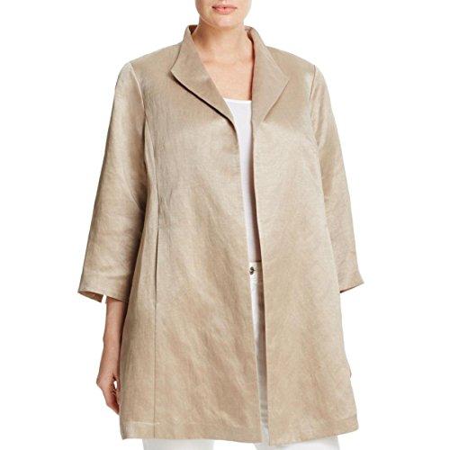 Womens Silk Clothing Coat Jacket - 5