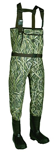 Allen Cattail Bootfoot Neoprene Chest Waders, Mossy Oak Blades (Chest Cat)