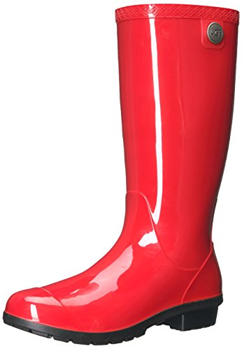 (UGG Women's Shaye Rain Boot, Tango, 5 US/5 B US)