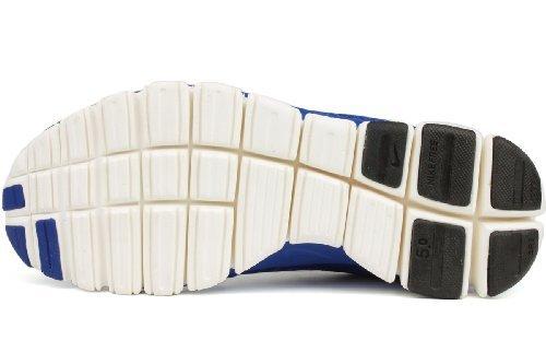 Nike Free 5.0 V4 Women Laufschuhe hyper blue-hyper blue-ice blue-sail - 35,5