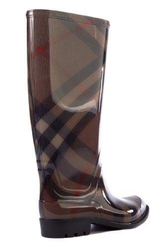 Burberry Gummi Stiefel Damen Boots cover dale Braun