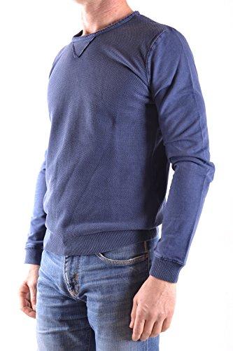 Fred Mello Felpa Uomo MCBI380009O Cotone Blu