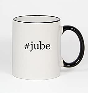 #jube - Funny Hashtag 11oz Black Handle Coffee Mug Cup