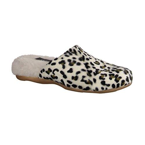 Slowlies 190 - Casa - Zapatilla Zapatillas De Estar Por Casa De Mujer, Beige