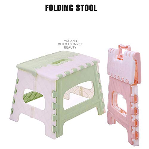 Schlafzimmer Bad Klappbarer Tritthocker Leichter Tritthocker Mini Cartoon Safe Stool f/ür K/üche Kinder oder Erwachsene