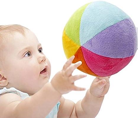 SHILOH Bola de arco iris super suave con pelota suave – Primera ...