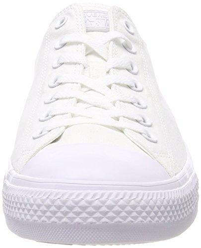 Converse Monochrome White Ctas Monochrome Adulte Ox Blanc white Mixte Baskets Seasonal 137 11pq4wT