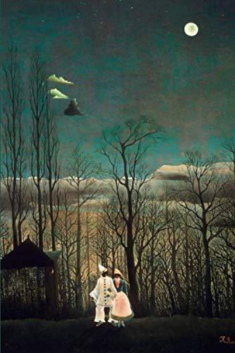 Henri Rousseau Artwork - Carnival Evening by Henri Rousseau Journal