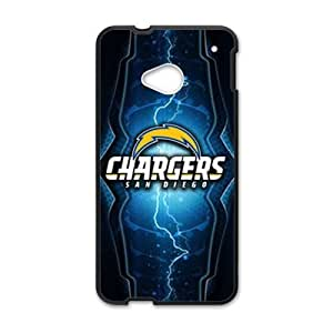 Cheerful San Diego Chargers Brand New And Custom Hard Case Cover Protector For HTC One M7 by ruishername