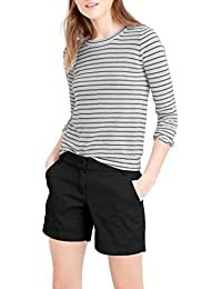 Womens 7 inch Inseam Super Comfy Bermuda Walking Shorts