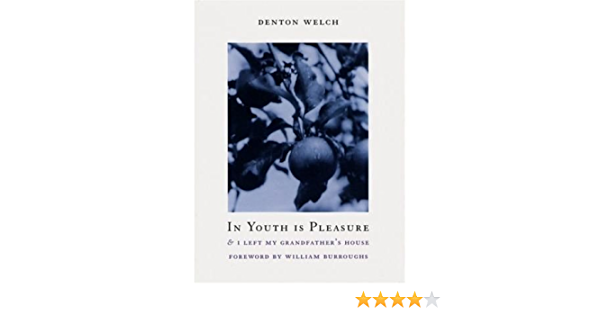 Ebook In Youth Is Pleasure I Left My Grandfathers House By Denton Welch