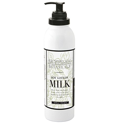 Milk Body Cream (Archipelago  Soy Lotion ,18 Fl Oz)