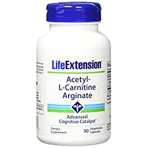 Life Extension Acetyl l Carnitine Arginate Veggie Caps, 60 Count