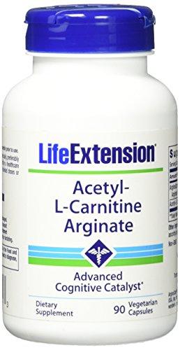 Life Extension Acetyl l Carnitine Arginate Veggie Caps, 90 Count