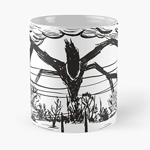 Stranger Things Monster Demogorgon Demagorgon Gift Coffee/tea Ceramic Mug Father Day]()
