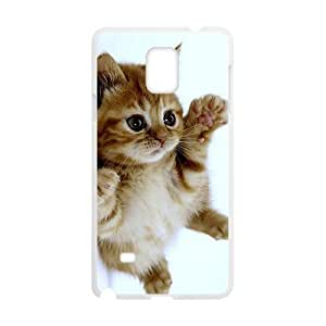 Adorable Little Kitten Kitty White Phone Case for For Iphone 4/4S Cover