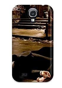 HTIAOvs3703jqwOJ Case Cover, Fashionable Galaxy S4 Case - Batman Begins ()