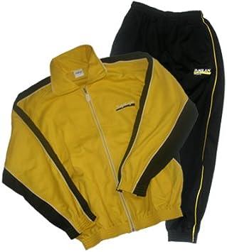all4you-sportswear Chándal, Amarillo/Negro, Tamaño S: Amazon.es ...