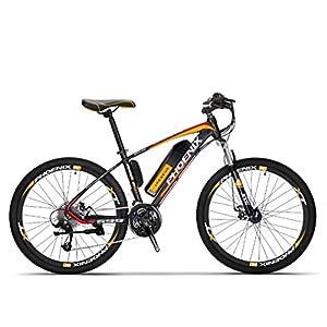 41LygPW0EuL. SS300 Adulti elettrica Mountain Bike, Biciclette da Neve 250W, Rimovibile 36V 10Ah Batteria al Litio per 27 velocità…