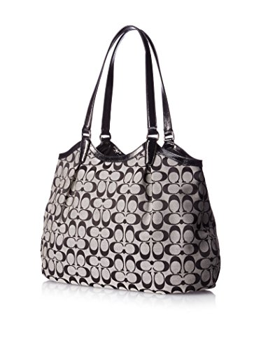 Tote Devin Women's 28503 Bag Signature Handbag Coach Stripe 7vpIwnf