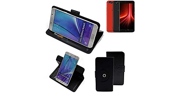 K-S-Trade 360° Funda Smartphone para UMIDIGI Z1 Pro, Negro ...